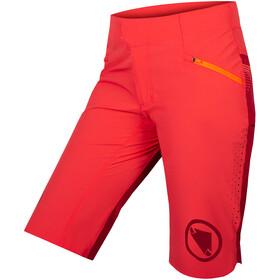 Endura SingleTrack Lite Shorts Dames, coral